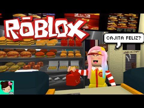 Trabajando en McDonalds - Roblox McDonaldsville - Titi Juegos