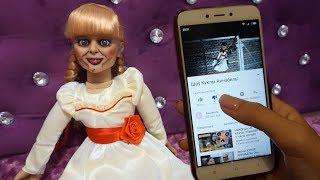 Страшные истории про куклу Аннабель: Первый дизлайк • Nepeta