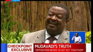 Mudavadi: I did not believe in Raila Odinga's  'swearing-in'