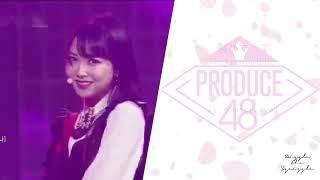 Produce48 (프로듀스48) – もう好きになっちゃうだろう?(Mou suki ni nacchau darou?) Lyrics [KAN/ROM/ENG]