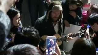 Damien Rice live in Busan after concert - (2) Delicate - 2015/11/24
