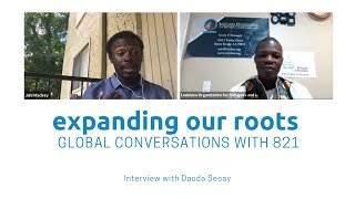 Expanding Our Roots: Dauda Sesay