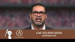 Chicago White Sox great, Ozzie Guillen and Howard Ankin in a promo for Chicago Injury Attorney Howard Ankin
