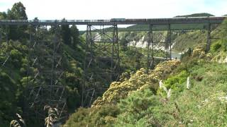 preview picture of video 'Steam Incorporated Passenger Train trip to Gisborne 2009'