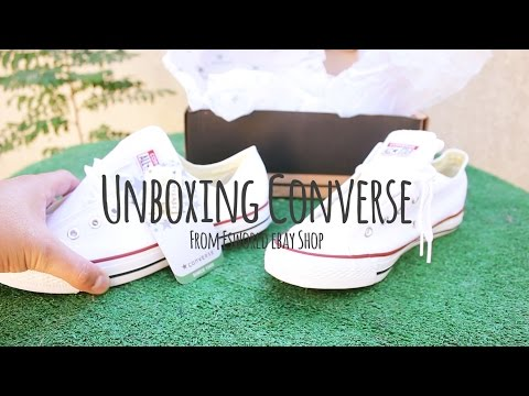 Unboxing Converse Bajas Blancas by Es_world