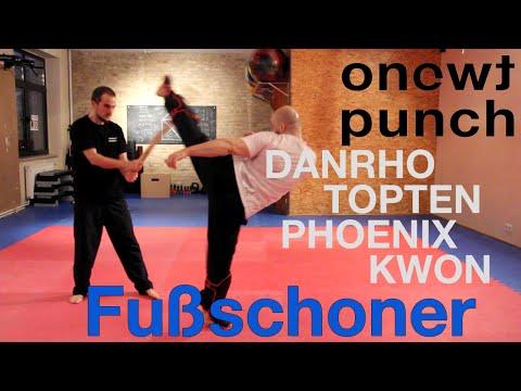 Top Schienbein Schoner und Spannschutz von Danrho,Topten,Phoenix,Kwon imTest mit Onetwopunch!!!