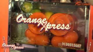 ORANGEXPRESS - Máquina de Sucos (Presente na EQUIPOTEL 2013)