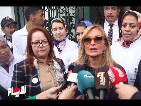 العرب اليوم - شاهد: يسرا تُؤكّد أنّ محمد السادس له وعي كبير بمحاربة السيدا