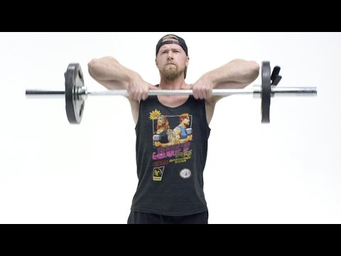 How To Perform the Upright Row - Exercise Tutorial
