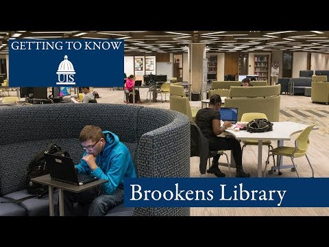 Getting to Know UIS: Brookens Library