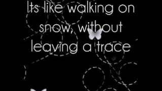 Jordin Sparks-Walking on Snow Lyrics
