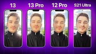 iPhone 13 Pro/13/12 Pro vs S21 Ultra - ULTIMATE Camera Comparison