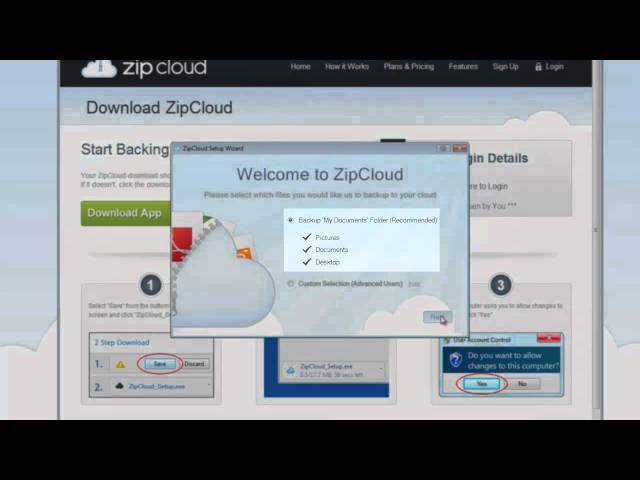 Zipcloud Tutorial: How to Install Zipcloud on a PC