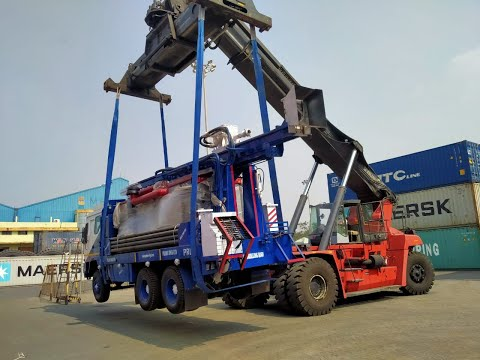 DTH 300 Truck Mounted Borehole Drilling Rig Refurbished