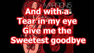 Maroon 5  - Sweetest Goodbye (Demo) [HQ+ LYRICS]