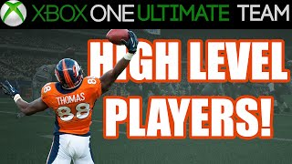 Madden 15 - Madden 15 Ultimate Team - HIGH LEVEL PLAYERS | MUT 15 Xbox One