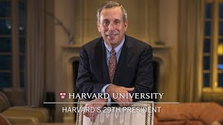 Harvard names Lawrence S. Bacow as 29th president