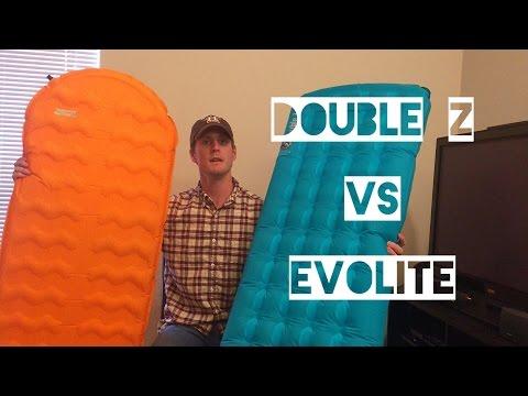 Big Agnes Double Z vs Thermarest EvoLite