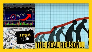 WHY The Stock Market WENT DOWN Today! - My Watchlist - 3 STOCKS TO BUY NOW