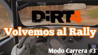 Dirt 4 - Modo Carrera # 3 | Volvemos el día que CodeMasters anuncia un nuevo juego de Rally