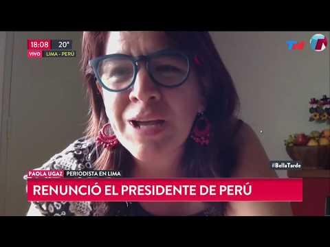 Periodista peruana habló sobre la renuncia de Kuczynski