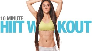 10 Minute Beginner HIIT Workout… (You Can DO WITH YOUR KIDS!!) by Athlean-XX for Women