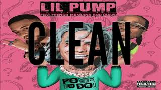 "Lil Pump   ""Pose To Do"" Ft. French Montana & Quavo (clean)"