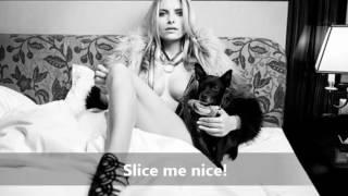 Fancy - Slice me nice (with lyrics on screen)