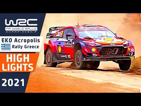 WRC 2021 ラリー・ギリシャ Day2ハイライト動画(2/2)