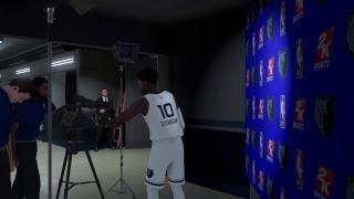 NBA 2K19 My Career Grizz v Jazz