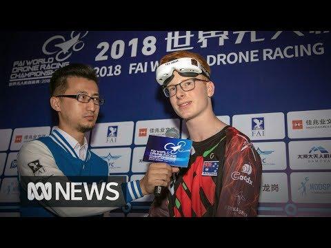 australian-teenager-rudi-browning-wins-world-drone-racing-championship-title-in-china--abc-news