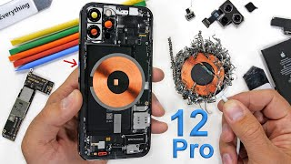 Apple iPhone 12 Pro Teardown - Where are the Magnets?