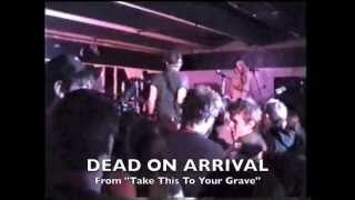 Fall Out Boy - Dead On Arrival (Live from Cruise Inn)