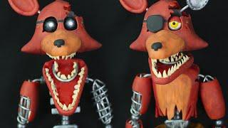 "IGNITED FOXY & OLD FOXY  ""TUTORIAL"" ✔POLYMER CLAY"