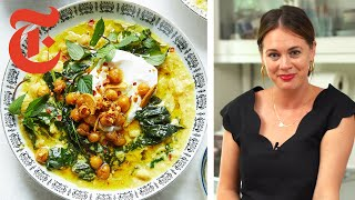 Alison Roman's Internet-Famous Chickpea Stew | NYT Cooking