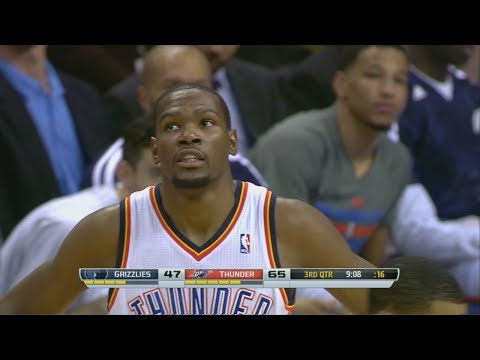 2014.02.28 – Kevin Durant Full Highlights vs Grizzlies – 37 Pts Clutch!