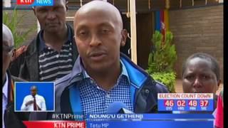 MP Ndung'u Gethenji accuses Nyeri county commissioner Julius Karuku of threatening his life