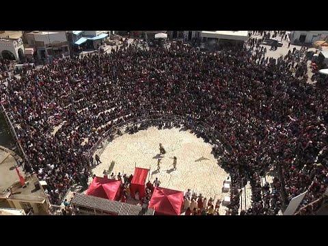 العرب اليوم - فيديو: مهرجان يستعيد أمجاد تونس وحضارة 1900 عام في المهدية