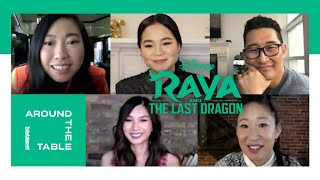 'Raya and the Last Dragon' Voice Actors Interview | Around the Table | Entertainment Weekly