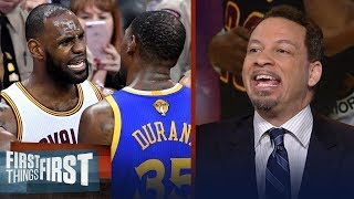 Chris Broussard on Kevin Durant not wanting to be LeBron's protege in LA | NBA | FIRST THINGS FIRST