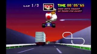 """Toad's Turnpike SC 3lap World Record - 1'49""""07 (PAL)"""