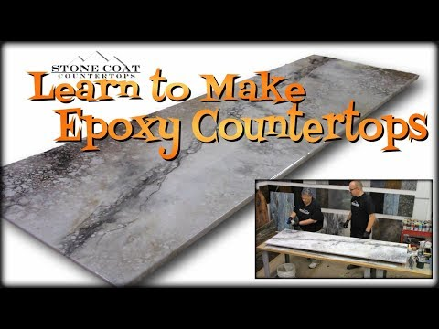 You Can Do This!  Epoxy Countertops