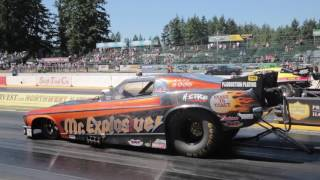 United Nitro Funny Cars - Seattle Invitational 2017 - NitroReports.com