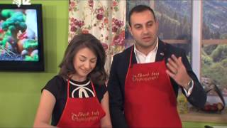 Cooking Show with Ruben and Astghik Harutunian