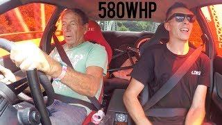 Dad drives my R32 Skyline Drift Car!
