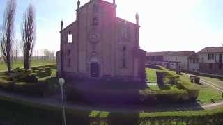 preview picture of video 'Yuneec Q500 First Flight footage - ITALY - LODI VECCHIO'