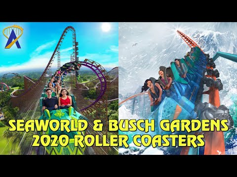 New Coasters coming to SeaWorld Orlando & Busch Gardens Tampa Bay in 2020