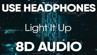 Marshmello   Light It Up Ft. Tyga & Chris Brown (8D AUDIO)