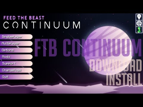 FTB CONTINUUM MODPACK 1 12 2 minecraft - how to download install FTB
