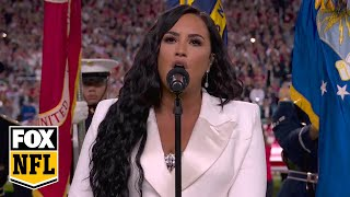 Watch Demi Lovato perform the National Anthem at Super Bowl LIV | FOX NFL